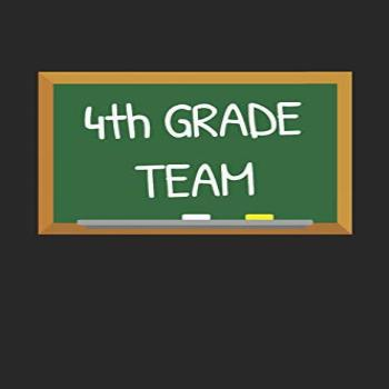 4th Grade Team: Gifts for Teachers Day Chalkboard Quote