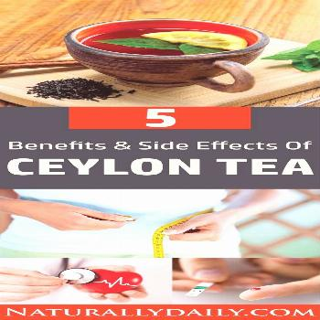 5 Ceylon Tea Health Benefits and Side Effects Ceylon tea is famous among tea lovers due to its supe