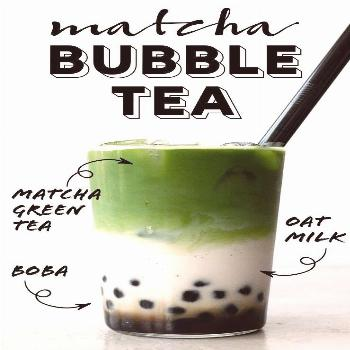 Get my tips and tricks to make this delicious and refreshing matcha green tea bubble tea at home wi