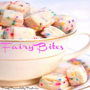 Hope your week is going well! If not, I have something to cheer you up! Fairy Bites!! Just looking