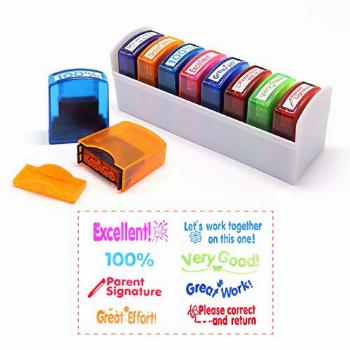 Reliancer Colorful Self-Inking Motivation School Grading