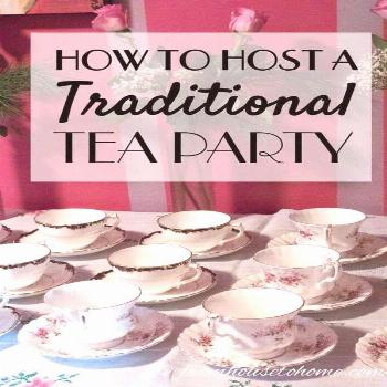 These traditional tea party ideas are awesome! From decor ideas to scone recipes, where to find clo
