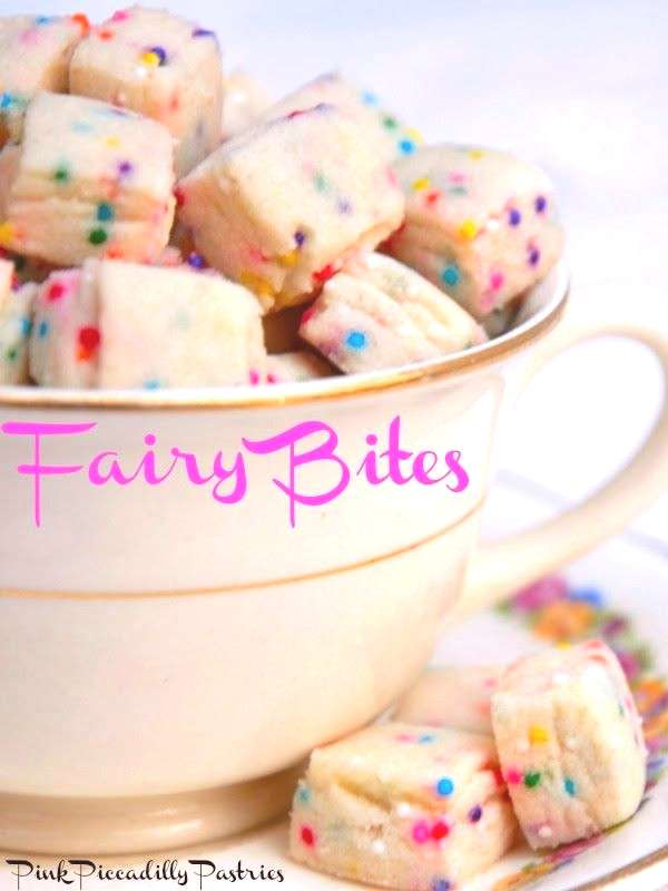 Hope your week is going well! If not, I have something to cheer you up! Fairy Bites!! Just look