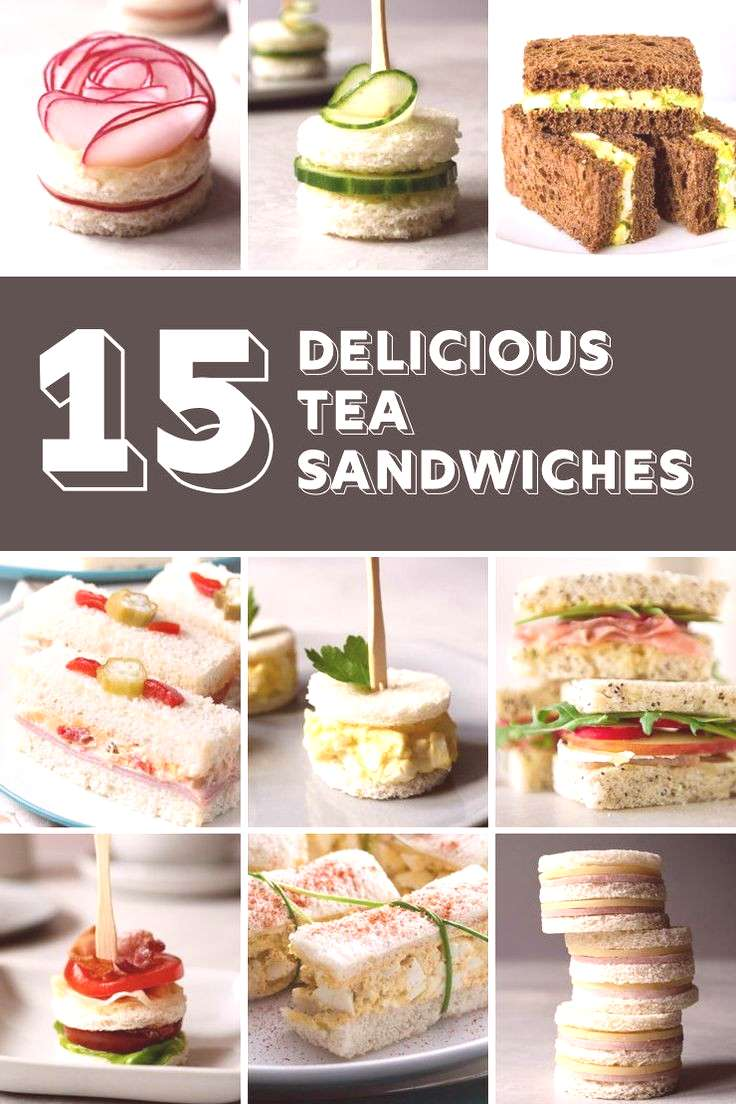 Looking for tea sandwich recipes for your next tea party? If you�re looking for finger sandwiches
