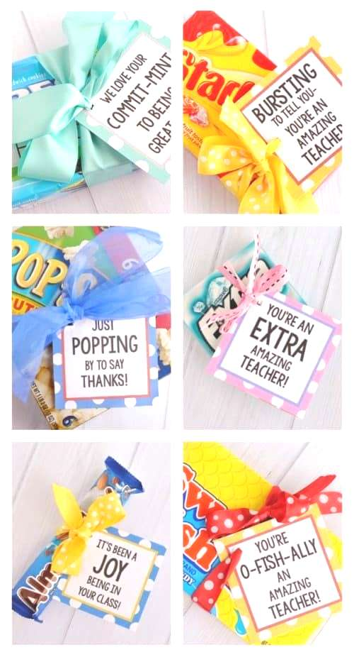Punny Teacher Gifts 20 Punny Teacher Gifts   Pun-Tastic Ideas with free Printables for Teacher Appr